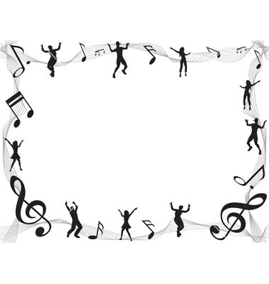 Music borders clip art jpg freeuse Music Note Border - Clipartion.com jpg freeuse