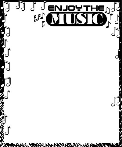 Music borders clip art svg royalty free library 1000+ images about Musical borders and clip art on Pinterest ... svg royalty free library