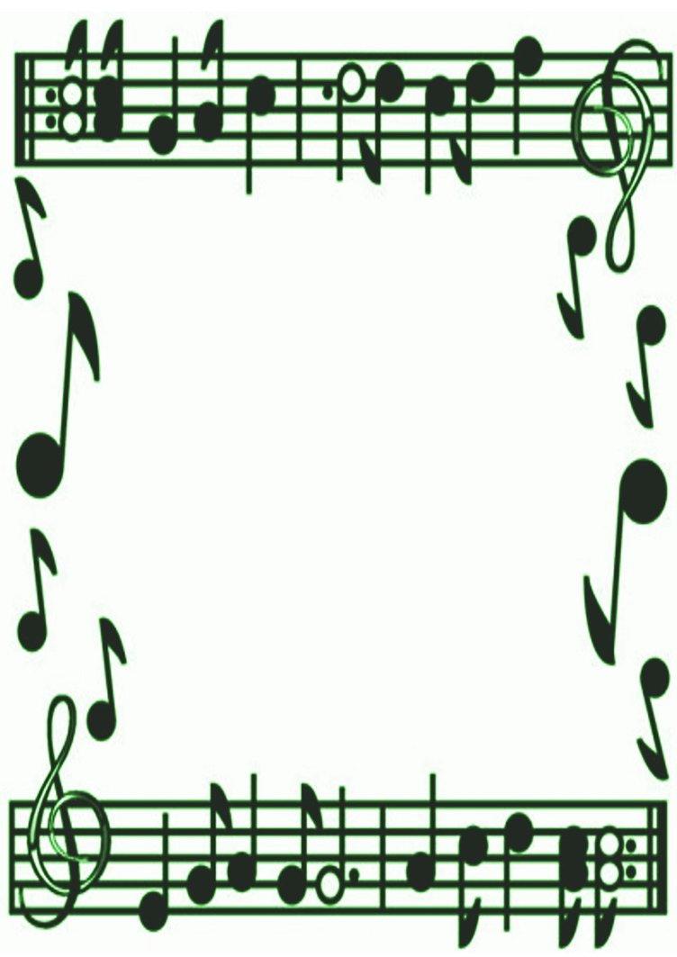 Music borders clip art clip art download Music Border Clipart - Clipart Kid clip art download