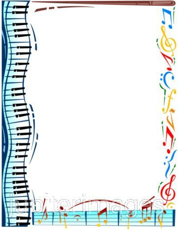 Music borders clip art picture free Free Music Borders Clip Art   Deacons Meeting   Teaching Music and ... picture free