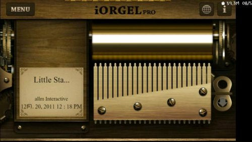 Music box app png black and white download Help make Your own Smart phone Music Box: iOrgel Application ... png black and white download
