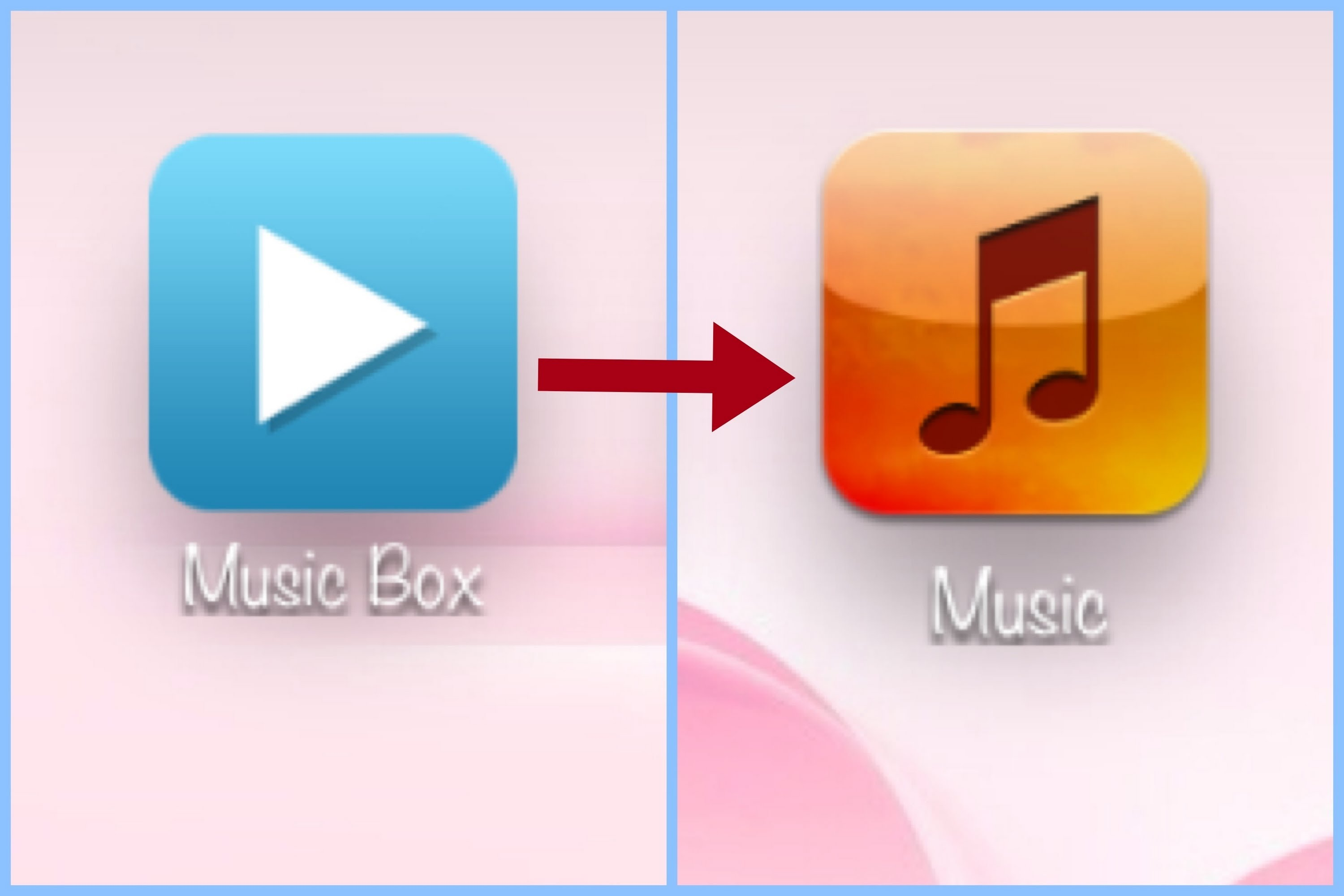 Music box app jpg black and white library Transfer Songs from MusicBox to iTunes library  - YouTube jpg black and white library
