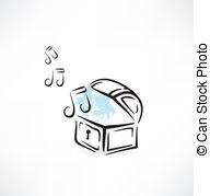 Music box clipart