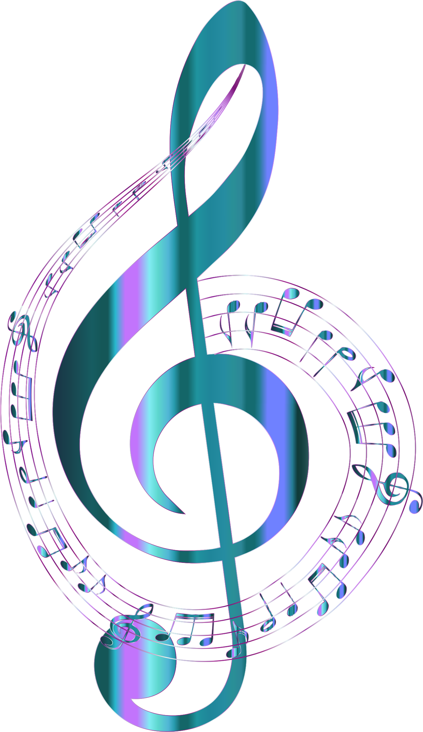 Music clipart download graphic free download Musical note Clip art - Notes png download - 1354*2342 ... graphic free download