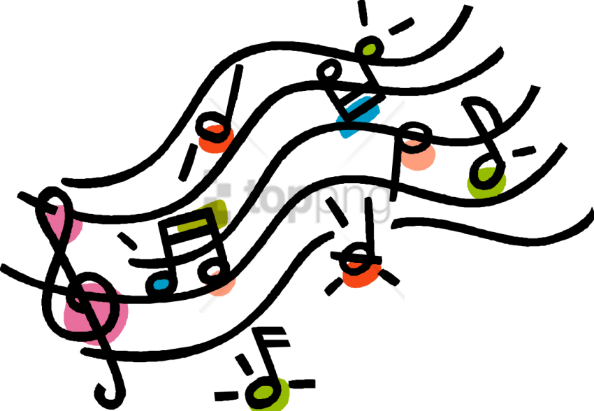 Music Note Clipart Png (+) - Free Download | fourjay.org jpg library stock