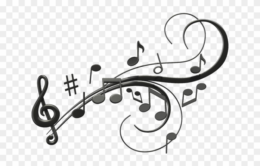 Music clipart transparent background image free library Music, Musical Note, Free Music, Calligraphy, Metal - Musical Notes ... image free library