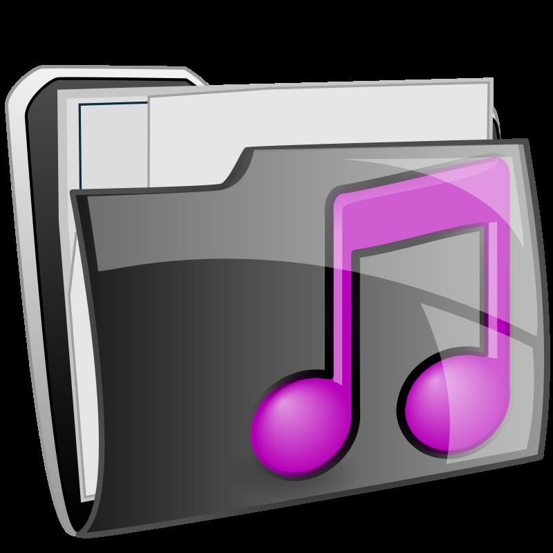 Music folder clipart clip free Free Clipart: Music folder | ilnanny clip free
