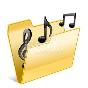 Music folder clipart clip art transparent library Music Folder premium clipart - ClipartLogo.com clip art transparent library