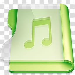 Music folder clipart png stock Rise, green music folder illustration transparent background ... png stock