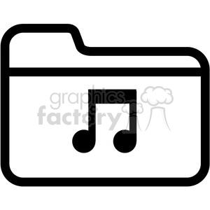 Music folder clipart png transparent music folder vector icon . Royalty-free icon # 398842 png transparent