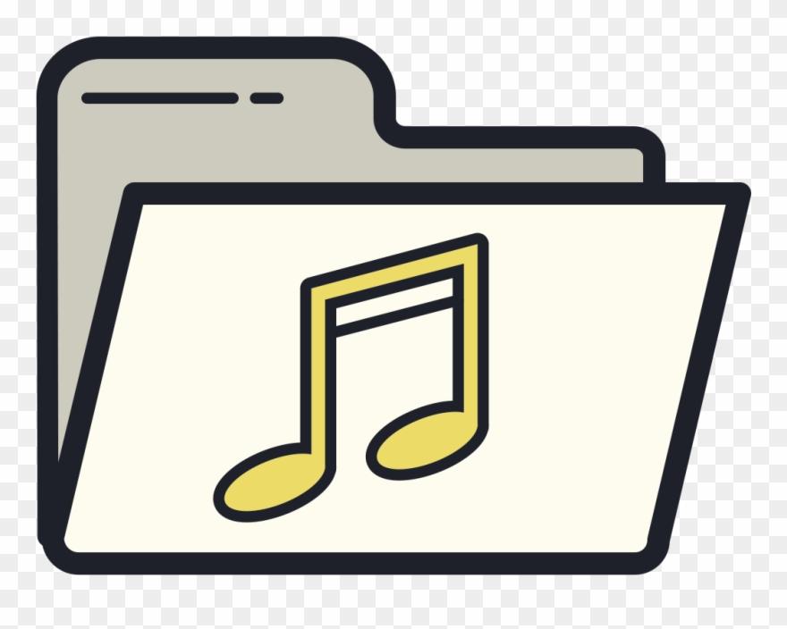 Music folder clipart image free Music Folder Icon Clipart (#2937227) - PinClipart image free