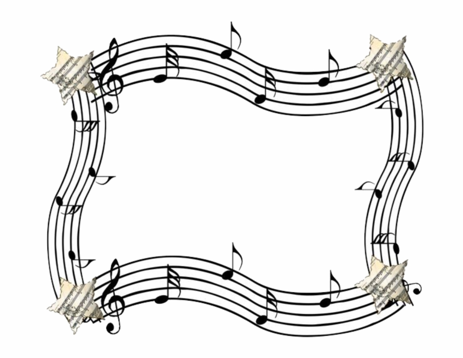 Music frame clipart picture library download music #notes #staff #scale #musicscales #stars #border ... picture library download