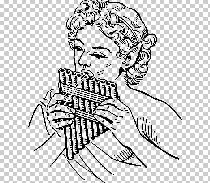 Music hand pipe clipart black and white vector freeuse stock Pan Flute Graphics Pipe Organ PNG, Clipart, Arm, Art, Black ... vector freeuse stock