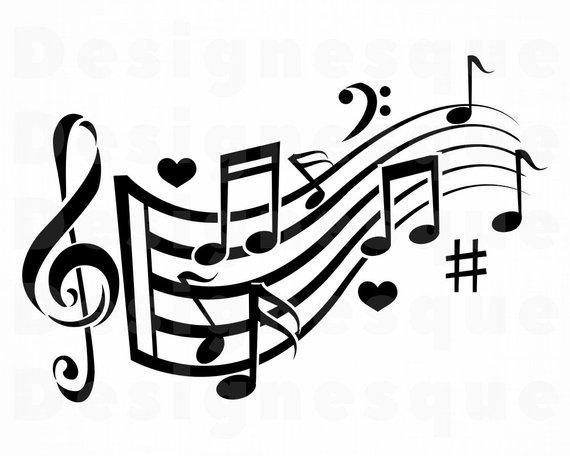 Music logo design clipart banner free stock Music Logo #7 SVG, Musical Note SVG, Music Note SVG, Musical Note ... banner free stock