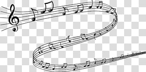 Music manuscript clipart jpg stock Staff Sheet Music Manuscript paper Musical note, music notes ... jpg stock