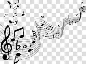 Music manuscript clipart