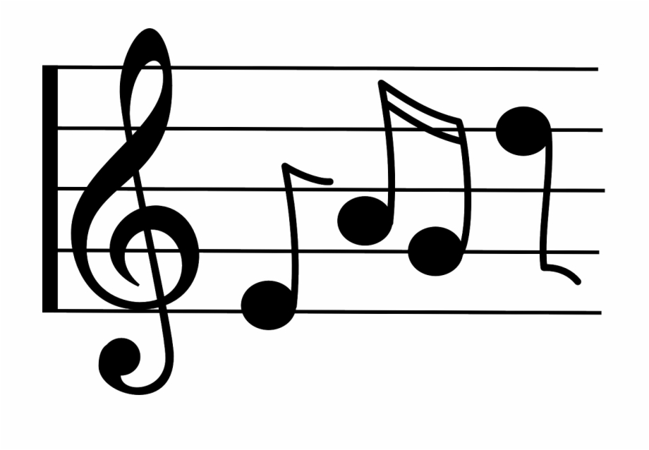 Music notation clipart graphic royalty free Music Notes Symbols - Music Notes Clip Art, Transparent Png Download ... graphic royalty free