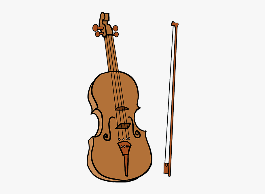 Violin clipart easy banner royalty free Violin Clipart Shape - Violin Drawing Easy #253277 - Free Cliparts ... banner royalty free