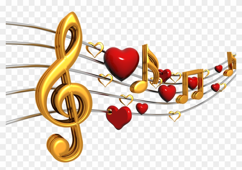 Png Image With Transparent Background - Heart Music Note Png, Png ... clip royalty free library