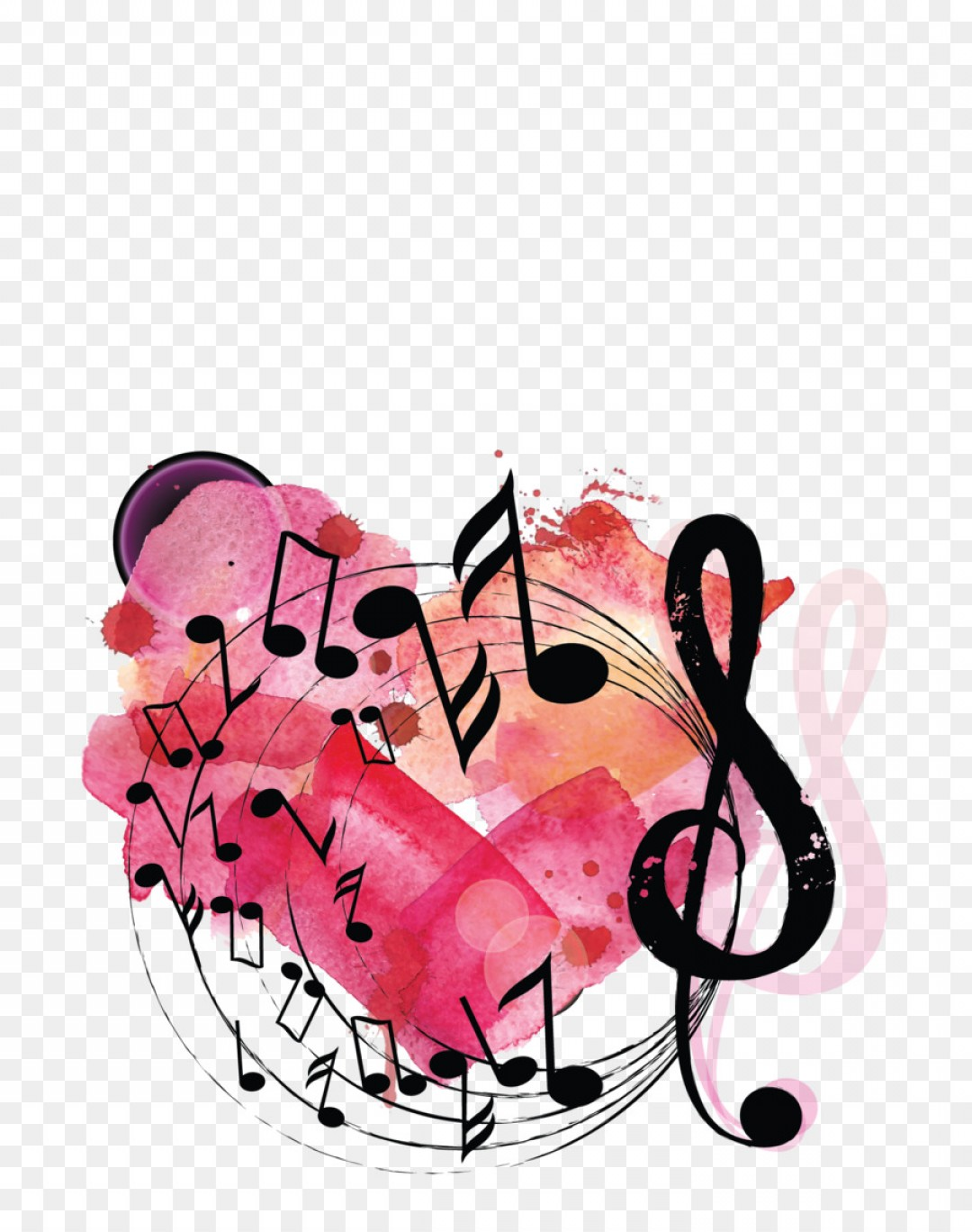 Free Musical Notes Transparent Background, Download Free Clip Art ... clip