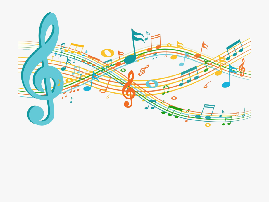 Musical Note Sheet Music Clip Art - Notes Musical Gif Transparent ... svg stock