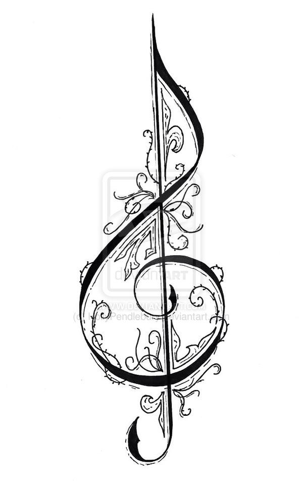 Fancy :DD | MUSIC | Music drawings, Music tattoo designs, Music tattoos banner transparent stock