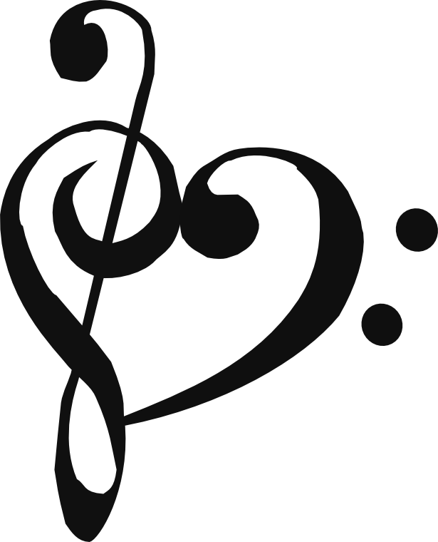 Music notes heart clipart jpg transparent download Heartsong's cutie mark by kilecroc on DeviantArt jpg transparent download