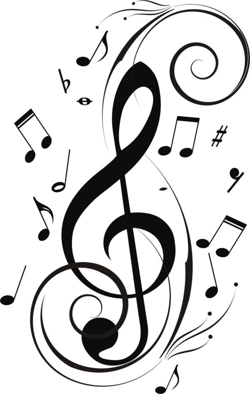 Music notes l clipart black and white picture library stock Poetry prompt- take a song (no lyrics) and write the words that mold ... picture library stock