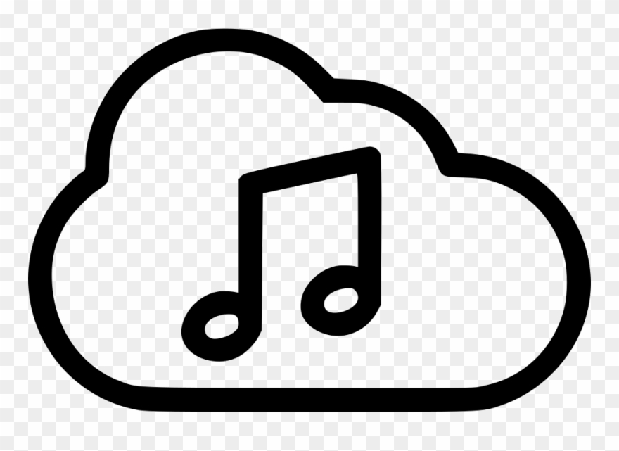 Music player icon clipart clip royalty free download Graphic Freeuse Music Playing Cloud Svg Png Icon Free - Music ... clip royalty free download