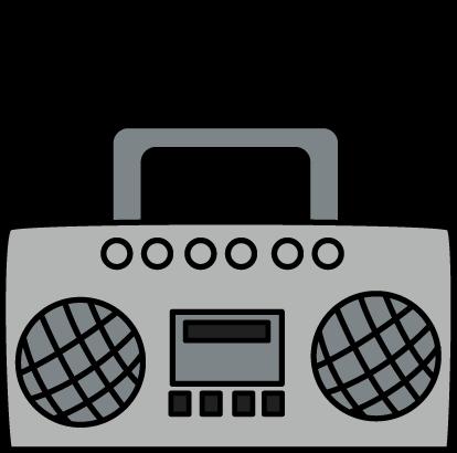 Music radio clipart banner black and white Heart Radio Cliparts - Cliparts Zone banner black and white