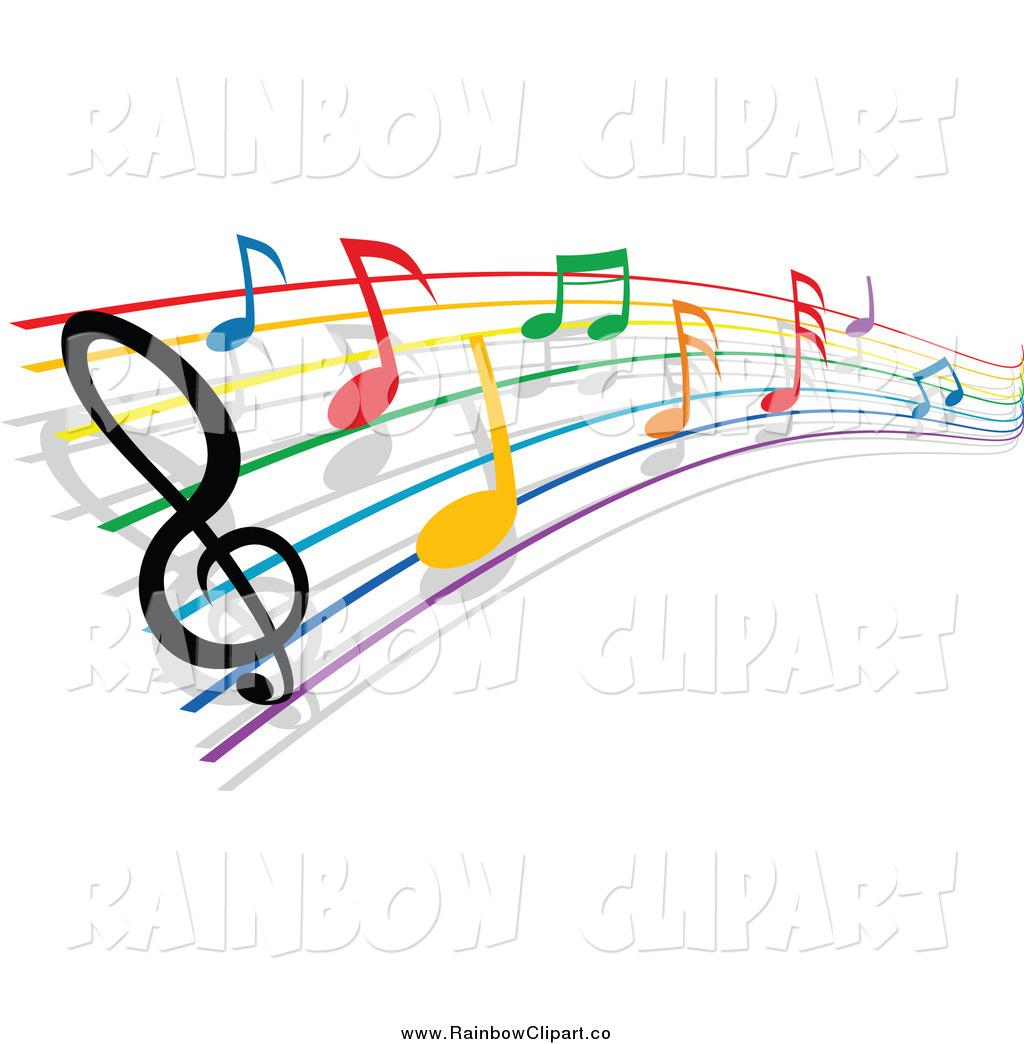 Music score clipart empty rainbow svg Music Staff Clipart | Free download best Music Staff Clipart on ... svg