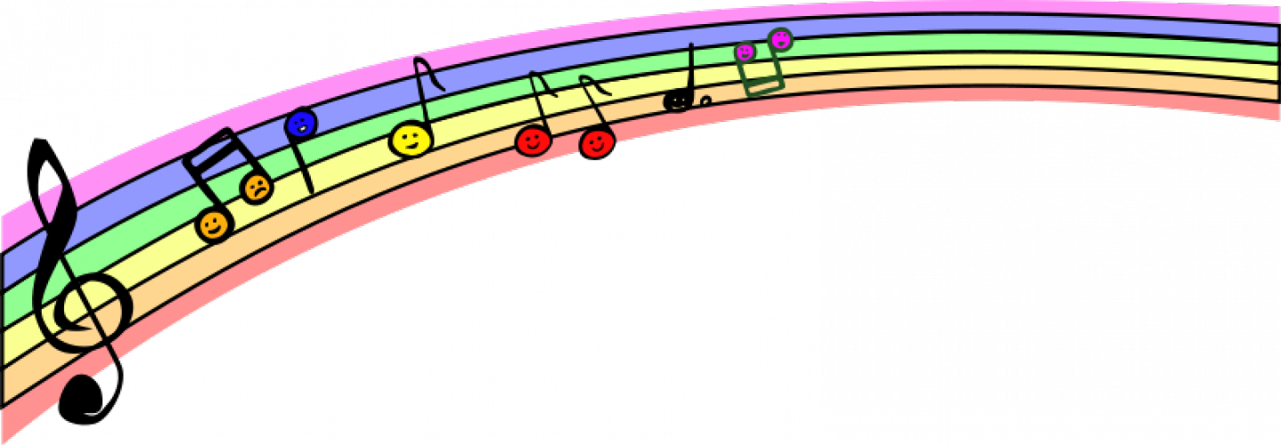 Music score clipart empty rainbow transparent library Free Wavy Music Staff, Download Free Clip Art, Free Clip Art on ... transparent library
