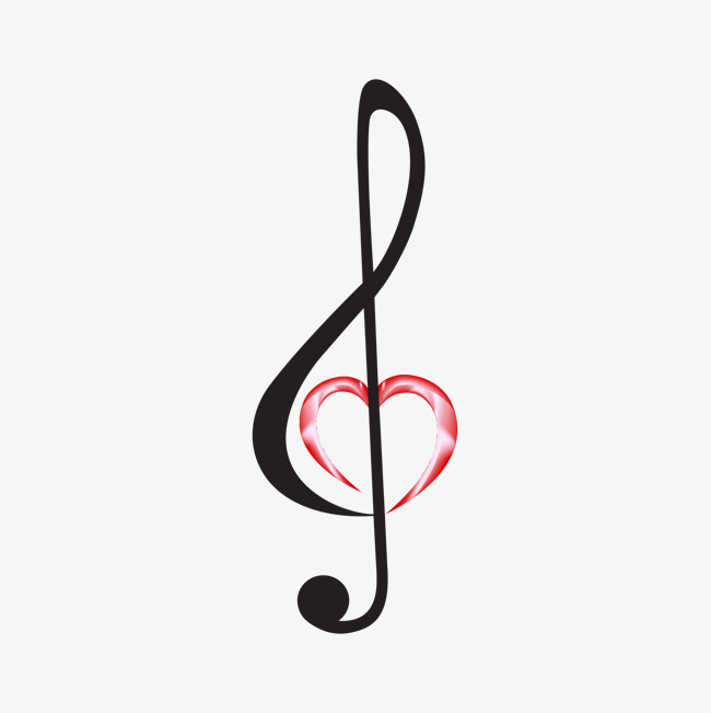 Music simbols in a heart shape clipart graphic stock Music Symbols Png | Free download best Music Symbols Png on ... graphic stock