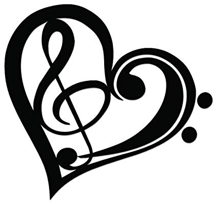 Music simbols in a heart shape clipart clip art freeuse library Music Symbol Drawing at PaintingValley.com | Explore collection of ... clip art freeuse library