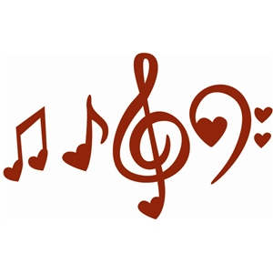 Music simbols in a heart shape clipart clip art free library Music Notes Heart | Free download best Music Notes Heart on ... clip art free library