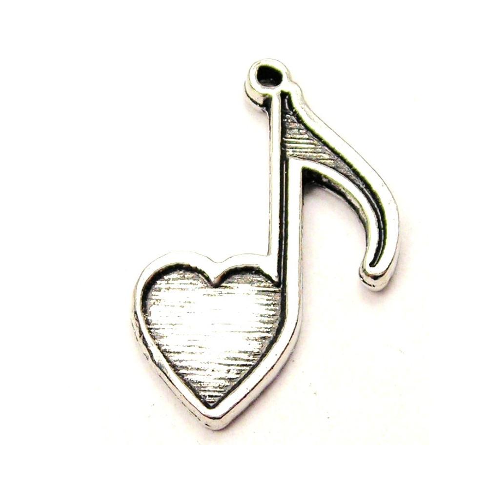 Music simbols in a heart shape clipart clipart library stock Heart Shaped Music Note | Clipart Panda - Free Clipart Images clipart library stock