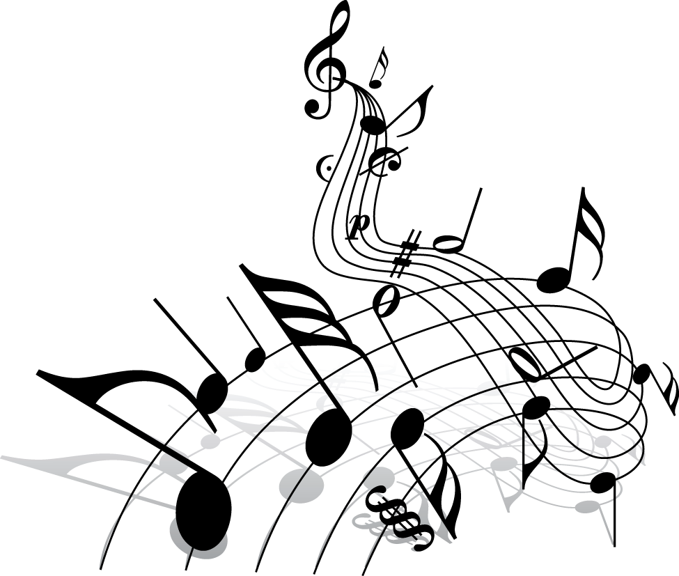 Music with cross clipart black and white image Pin by Daniela Andrea Mohina on Vector art (png) | Pinterest image