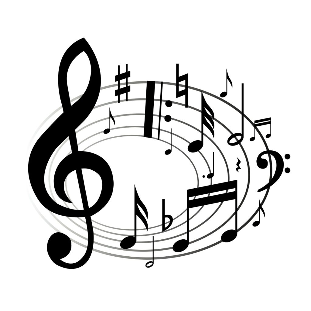 Musical entertainment clipart graphic free coloring ~ Music Notes Clipart Panda Free Images Coloring Musical ... graphic free