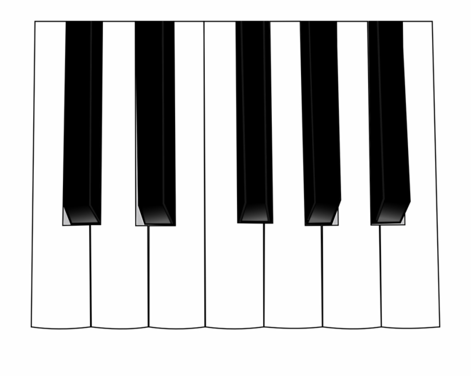 Musical instrument keyboard clipart black and white clip transparent Piano Keys Piano Music Instrument Keyboard Keys - Piano Keyboard ... clip transparent