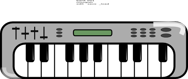 Musical instrument keyboard clipart black and white jpg Collection of Keyboard clipart | Free download best Keyboard clipart ... jpg