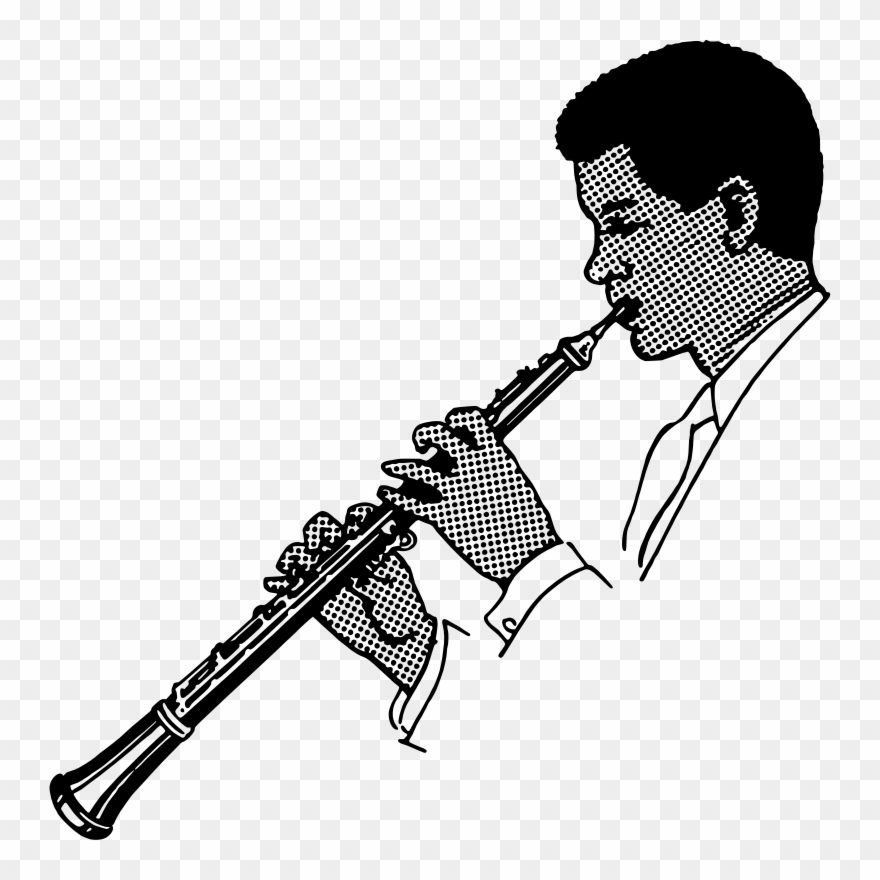 Musical instruments clipart black and white oboe graphic library library Oboe Musical Instruments Drawing Trumpet Flute - Oboe Clipart - Png ... graphic library library