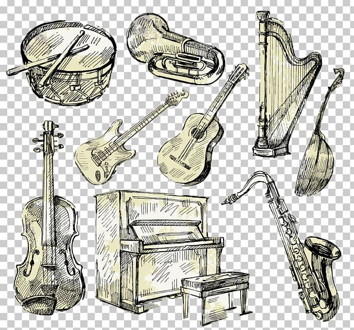 Musical instruments painting clipart clip library library Mellophone Drawing Musical Instrument Painting PNG, Clipart, Brass ... clip library library