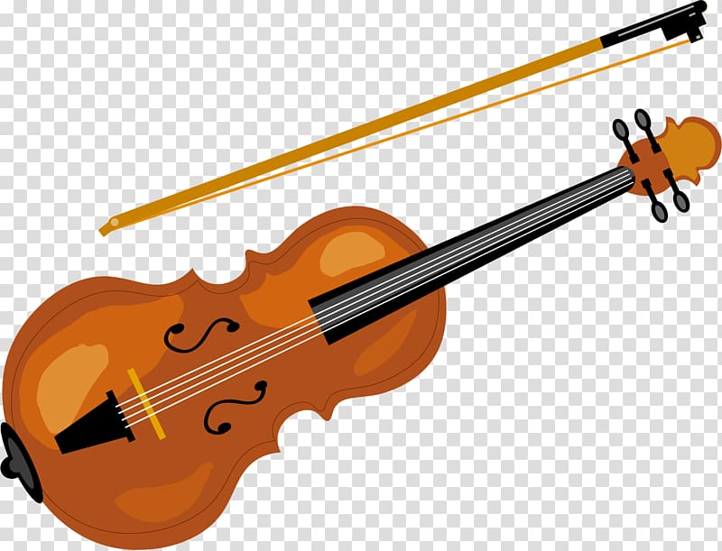 Musical instruments painting clipart graphic library library Violin Musical instrument, painted violin transparent background PNG ... graphic library library