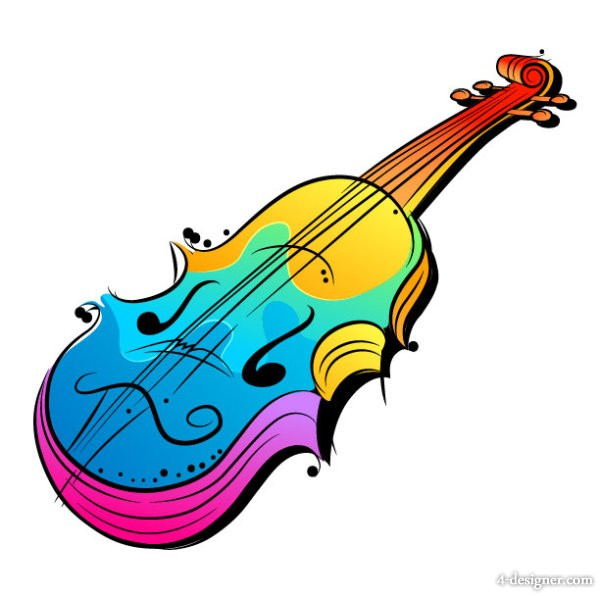 Musical instruments painting clipart vector transparent library Free Cartoon Musical Instruments, Download Free Clip Art, Free Clip ... vector transparent library