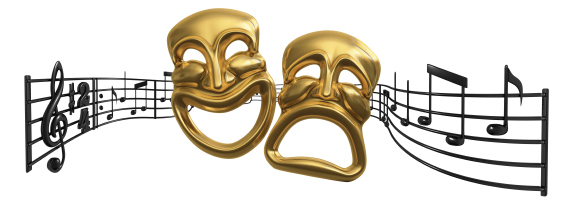 Musical theater clipart png black and white stock Musical Theater Clipart #1 | Clipart Panda - Free Clipart Images png black and white stock