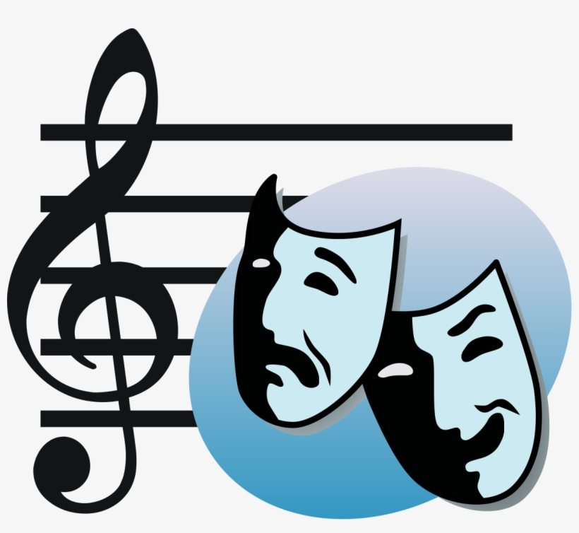 Musical theater clipart jpg freeuse library Masks Clipart Musical Theatre - Musical Theater Clipart ... jpg freeuse library