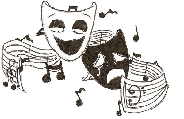 Musical theatre clipart clip black and white download Free Musical Performance Cliparts, Download Free Clip Art ... clip black and white download