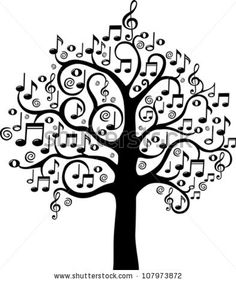 Musical trees signing clipart black and white picture royalty free stock 340 Best MUSIC DRAWINGS images in 2019 | Music tattoos ... picture royalty free stock