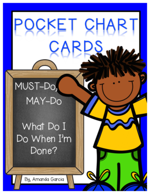 Must do may do clipart picture library stock Must Do, May Do...What Do I Do When I'm Done? Pocket Chart Cards picture library stock