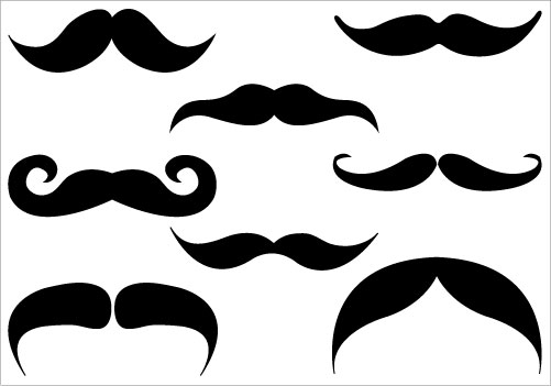Moustache styles clipart vector free stock Free Free Mustache Clipart, Download Free Clip Art, Free Clip Art on ... vector free stock